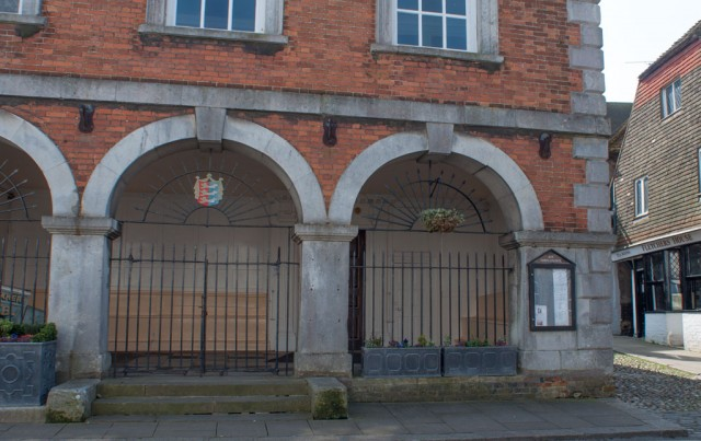 Right Side of Butter Market, Rye Town Hall, Market Street