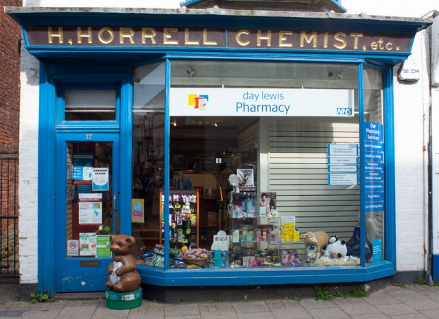H Horrell, Chemist, High Street