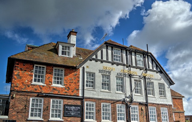 The Hope Anchor Hotel, Watchbell Street